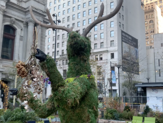 This is one of the sculptures at Dilworth Park