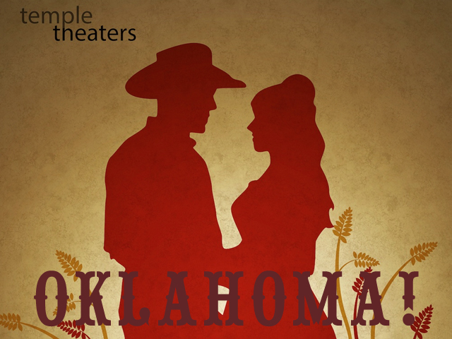 Temple Theaters' Oklahoma! poster