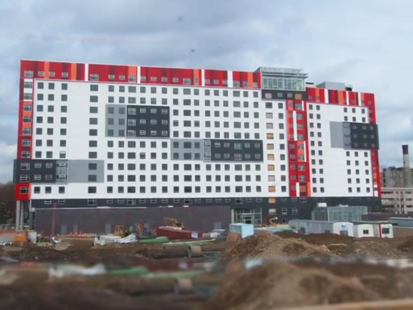 The View Housing Development Exterior