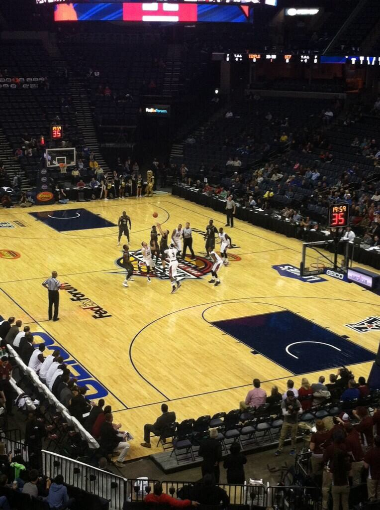 Temple vs. UCF in Memphis, Tennessee
