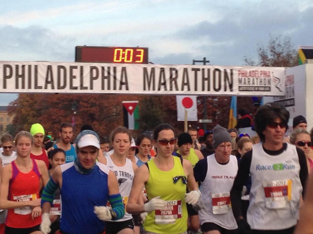 Philadelphia Marathon 2014