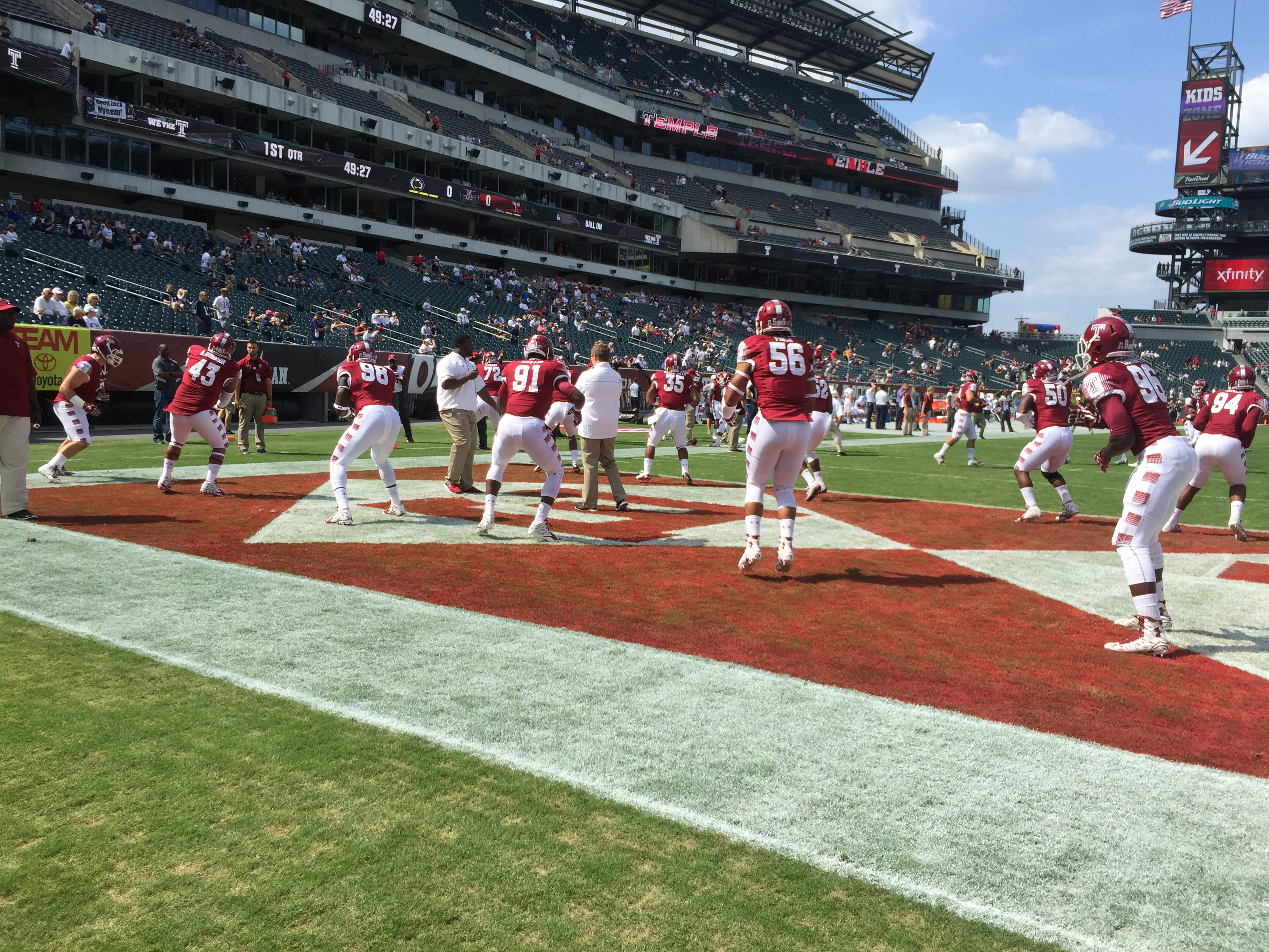 Temple Tames the Nittany Lions