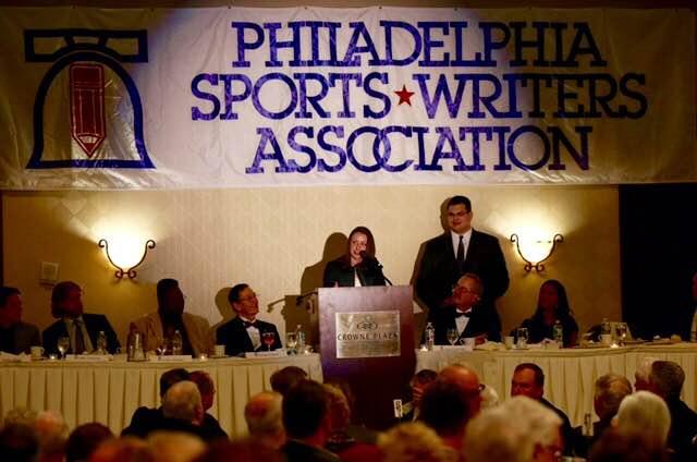 Philadelphia Sports Writing Association Banquet