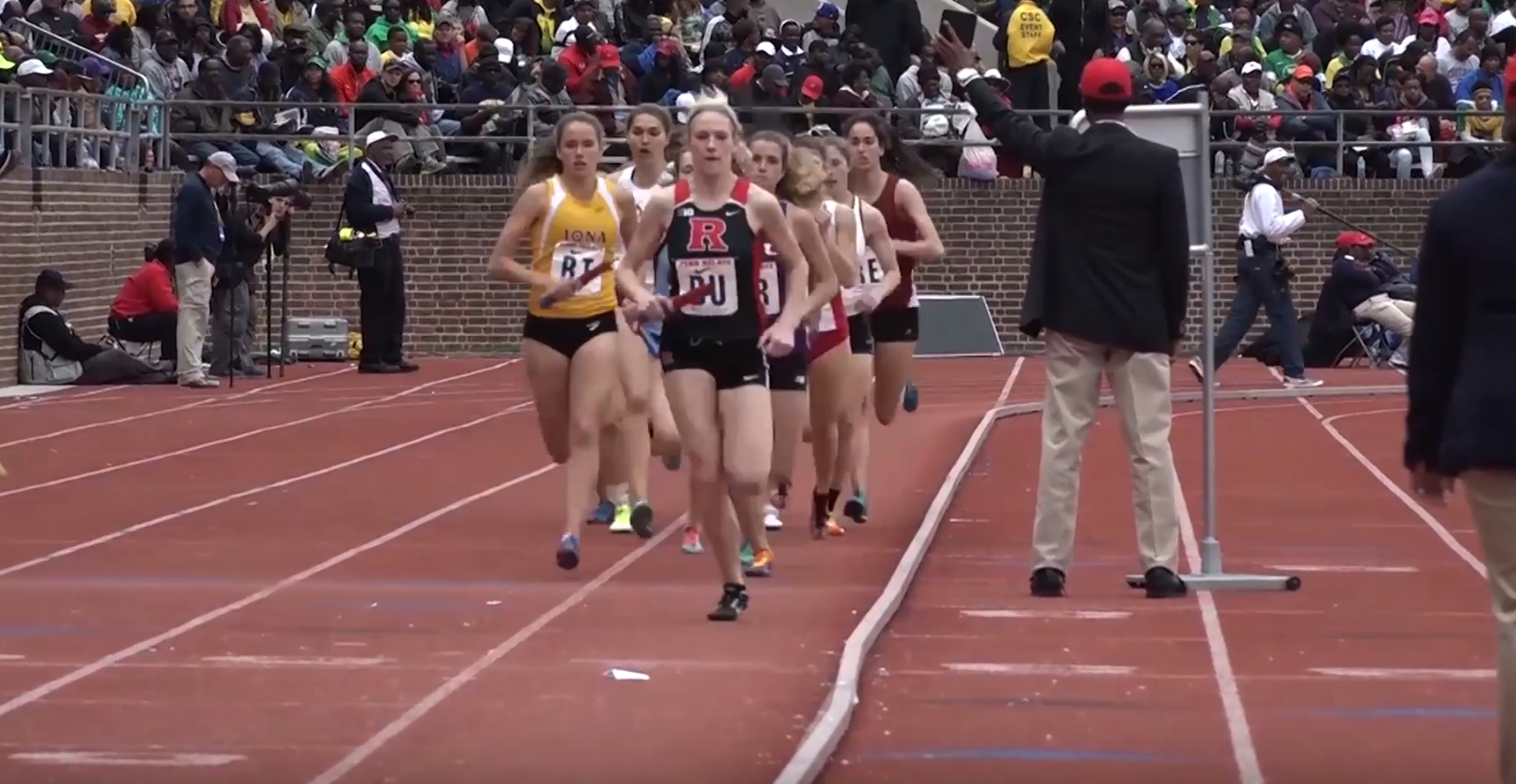 Temple Women's Track & Field take on Annual Penn Relays. The 122nd Penn Relays were held in Philadelphia, Pennsylvania.
