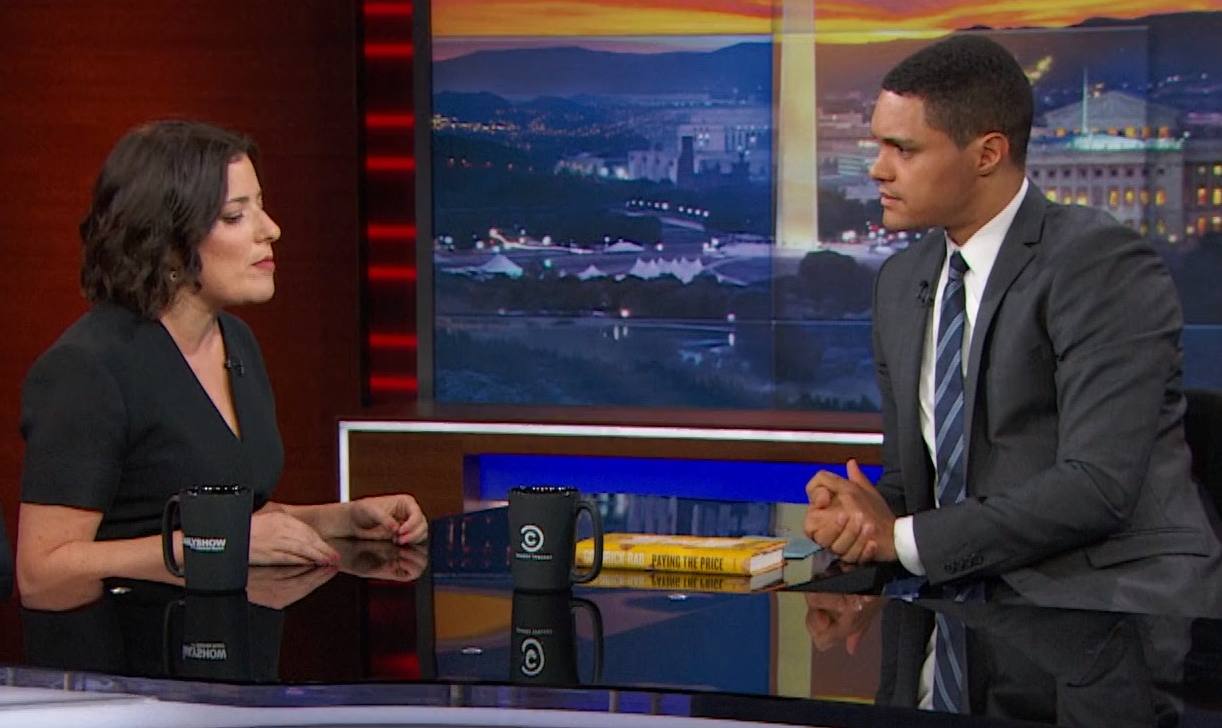 Temple Professor Discusses College Debt on The Daily Show