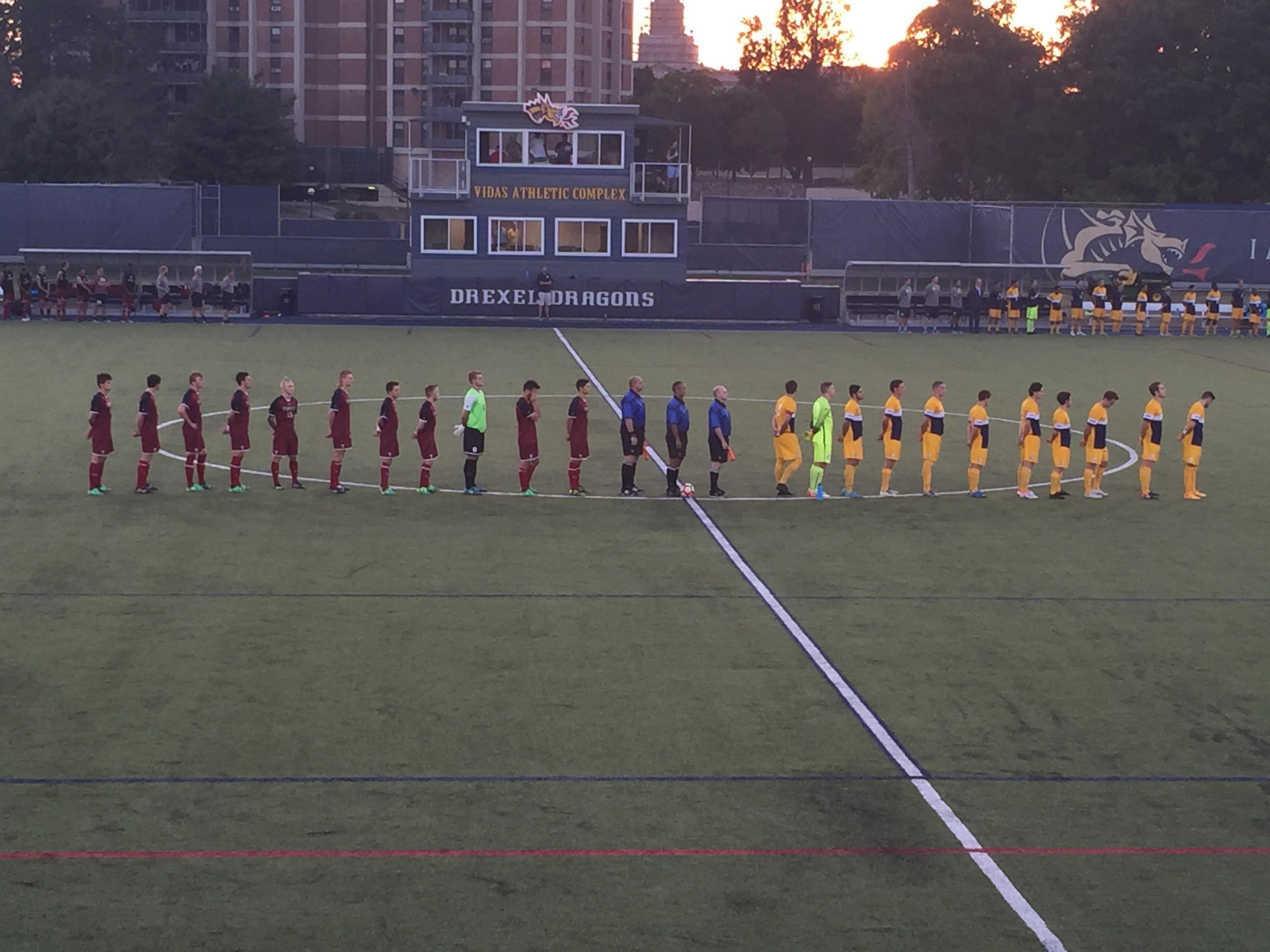 Temple Men's Soccer loses to Drexel in overtime.
