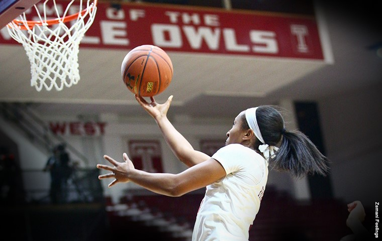 Temple Women's Basketball Defeats Rutgers to Win Third in Row
