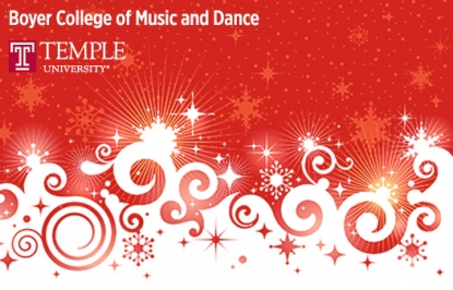 Boyer College of Music Presents Family Holiday Concert