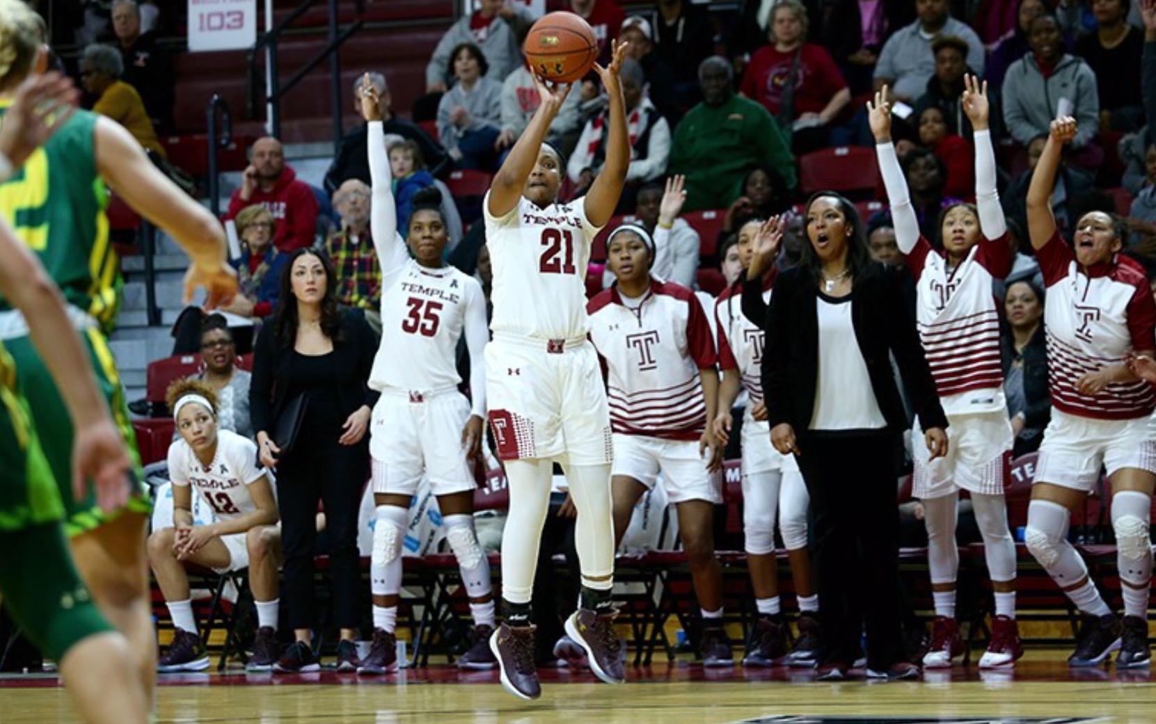 #23 USF Halts Temple Women's Basketball's Twelve Game Winning Streak