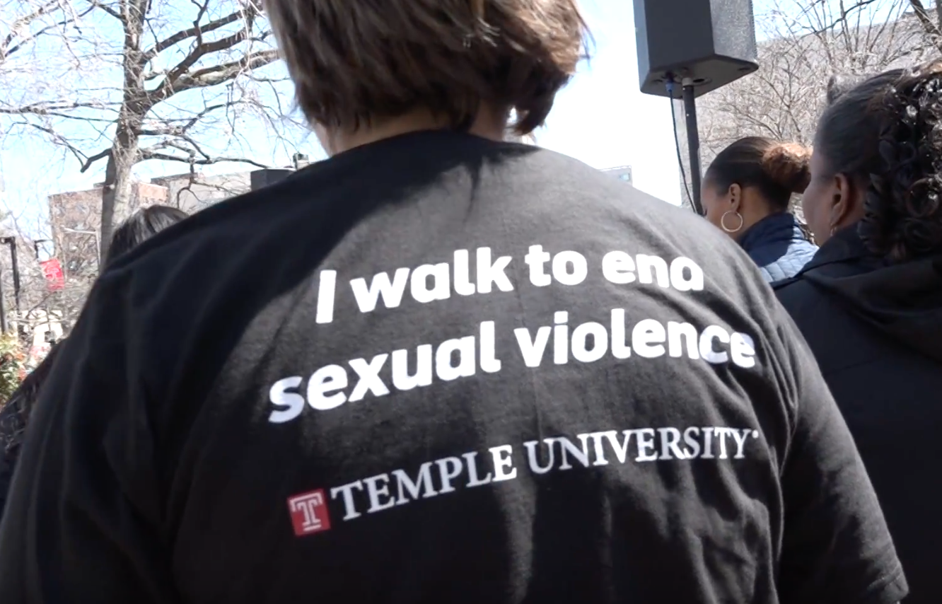 Temple's Walk to End Sexual Violence Rebrands