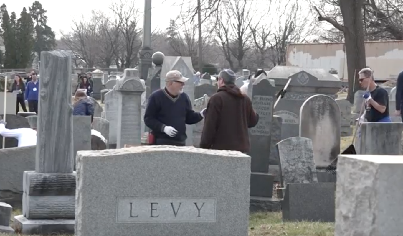 Community Reacts After Jewish Cemetery Vandalization