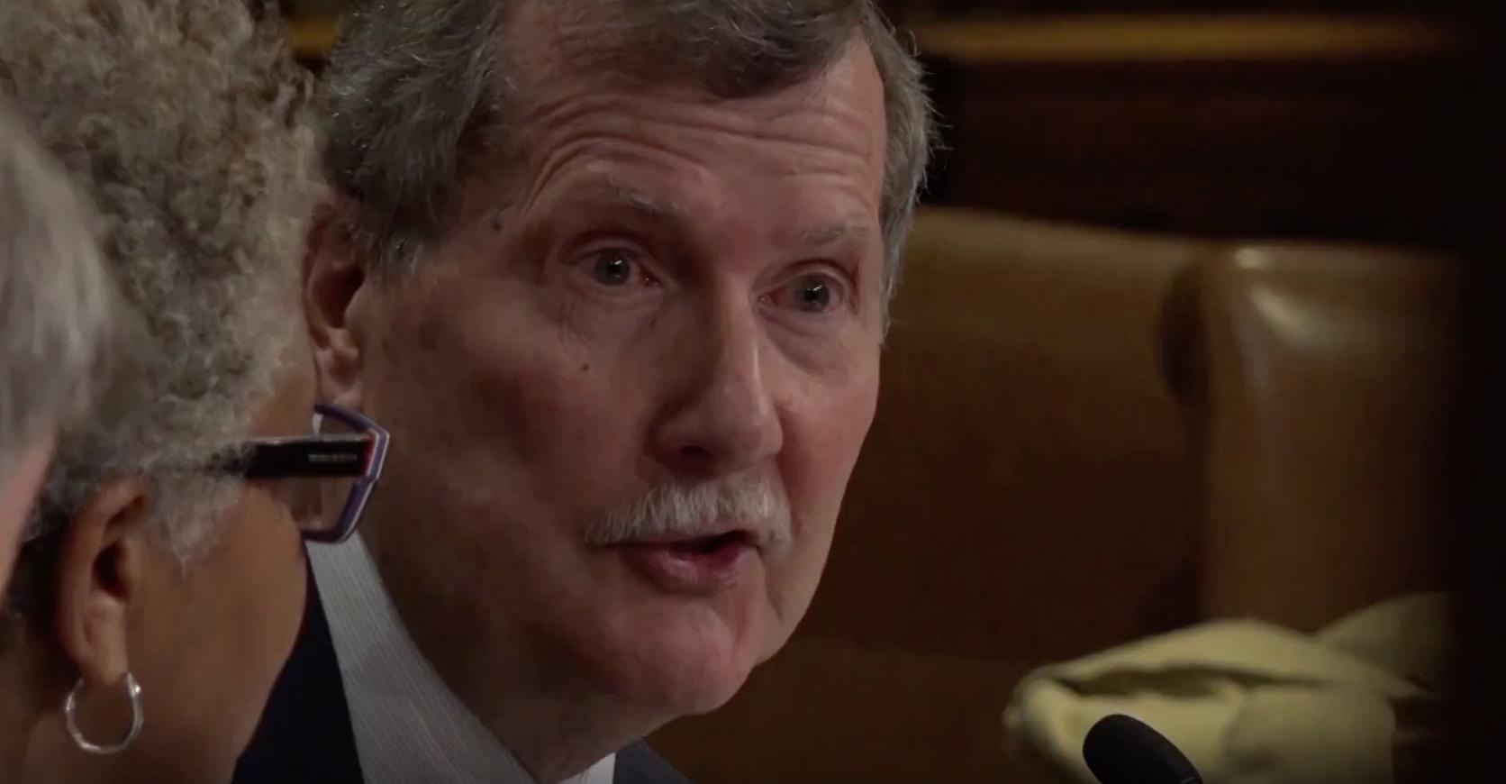 President Englert Testifies Before Senate Appropriations Committee